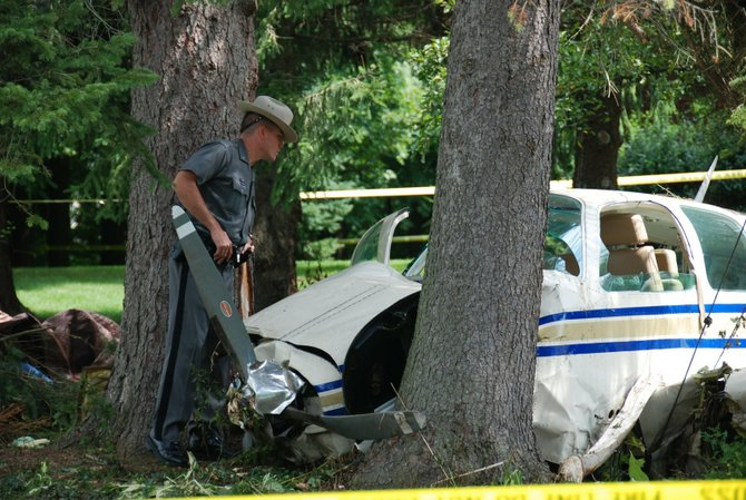 New York State Police responded a single-engine plane crash in the Van Vranken Road area of Clifton Park on Wednesday, Aug. 15. The accident occurred at approximately 7:30 a.m.