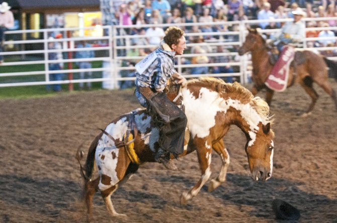 The Double M Rodeo in Ballston Spa was a hopping place on August 11. The rodeo runs Friday and Saturday nights during the summer.