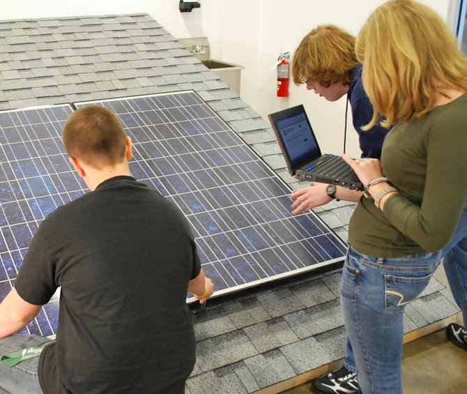 Clean energy through various hands-on applications is making its way to the Tec-SMART campus. Submitted photo. 