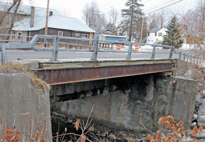 The Moriah Center Bridge was re-opened after Essex County road crews reconstructed the bridge last week.