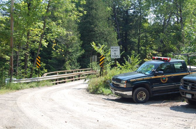 Police continue to search for a missing Chestertown man whose car was found on Peasley Road in Crown Point.