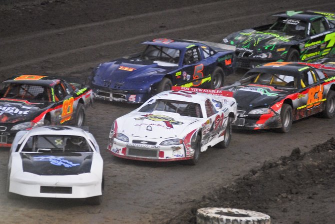 Racing was hot on Aug. 24 at Albany-Saratoga Speedway in Malta. Racing runs every Friday night.
