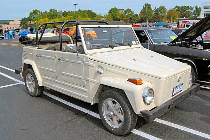 Last year's winner for the ugliest car at the inaugural Kiwanis Club of Schenectady's Ugly Car Show contest was a 1973 Volkswagen Thing, owned by Michael Jones. This year's contest will be held on Saturday, Sept. 15, in downtown Schenectady.
