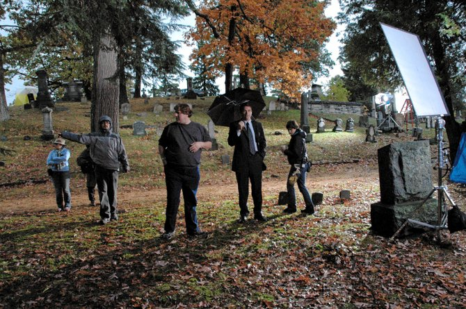 """Tennyson Bardwell shot """"The Skeptic,"""" above, in Saratoga. The director is shooting his third film, """"Bully Pullpit,"""" in Ballston Spa. Submitted photo."""
