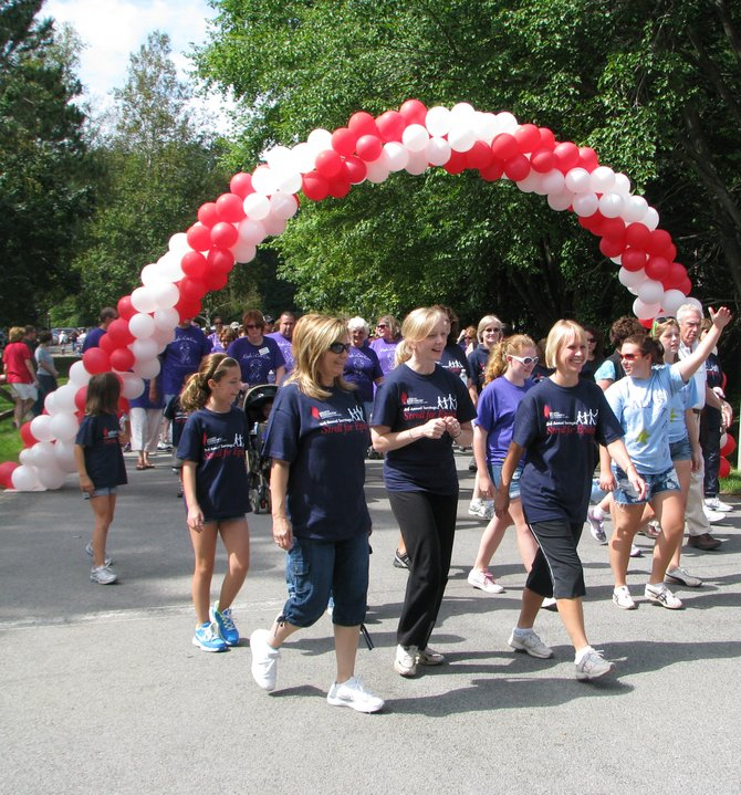 Organizers of the Saratoga Stroll for Epilepsy are hoping for 800 or more walkers this year. Submitted photo.