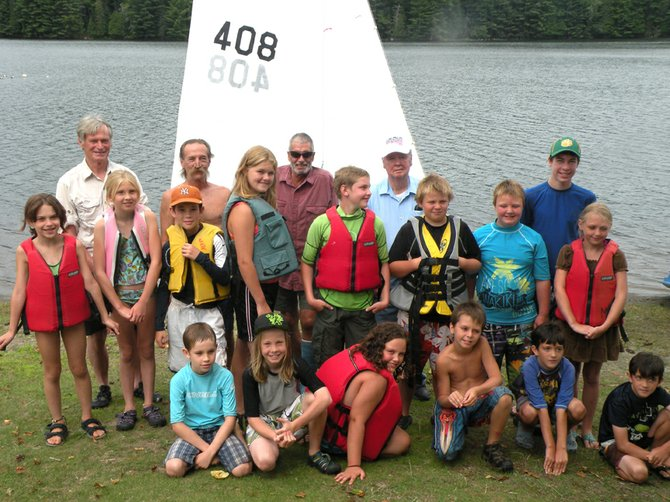 Minerva Sailing Program participants