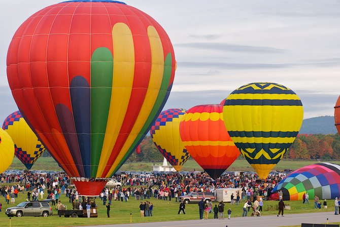The Adirondack Balloon Festival is the oldest and largest balloon festival on the East Coast and attracts participants from all around the world. This year the event celebrates its 40th anniversary.