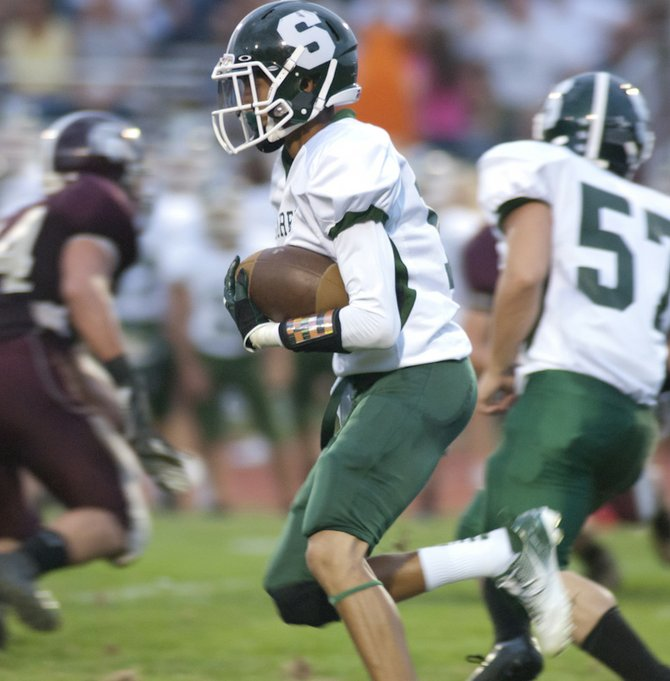 Burnt Hills-Ballston Lake took on Schalmont on Sept. 7.
