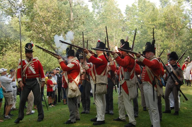 This battle in Beekmantown represents the first fighting in the area before the Battle of Plattsburgh.