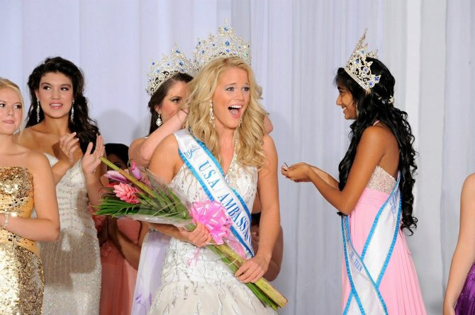 Latham native Alyssa Paulsen won the title of Miss USA Ambassador in July.