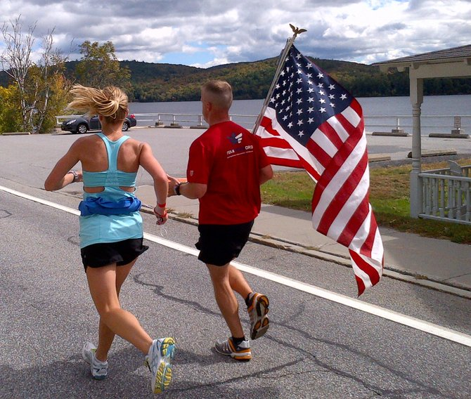 More than 900 runners took part in the annual Adirondack Distance Festival in Schroon Lake Sept. 23. The event featured a marathon, marathon relay and half marathon.
