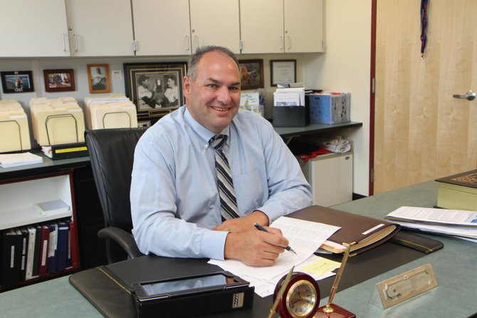 Greg Avellino is just getting started as the new principal of East Syracuse Minoa Central High School.