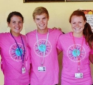 Schroon Lake residents, from left, Clare Whitney,  Mitchell Beers and Nicole Beers took part in a Mission of Hope to Chiquilistagua, Nicaragua, this summer.