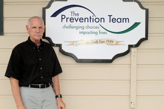 Doug Terbeek, executive director of the Prevention Team, sees the need for continuing substance abuse education in the county.