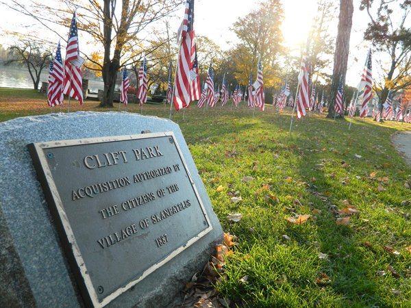 The SGLA will again sponsor a flag sale and Veterans Day ceremony on Nov. 12. Last year more than 120 flags flew in Clift park for two weeks prior to the Veterans Day holiday.