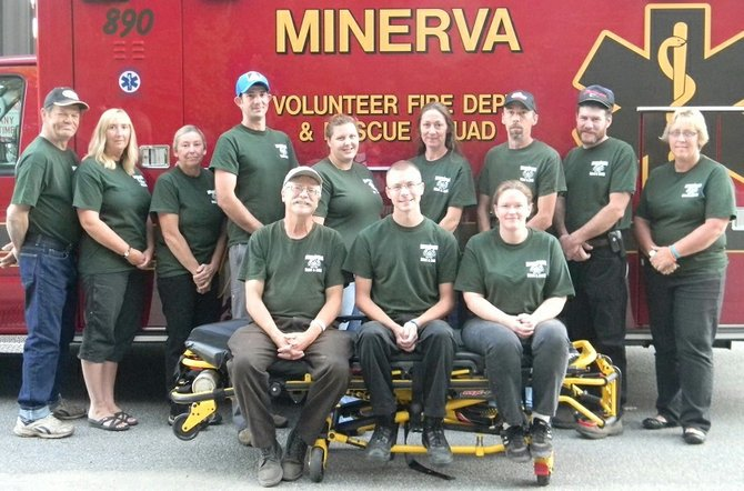 Members of the Minerva EMS