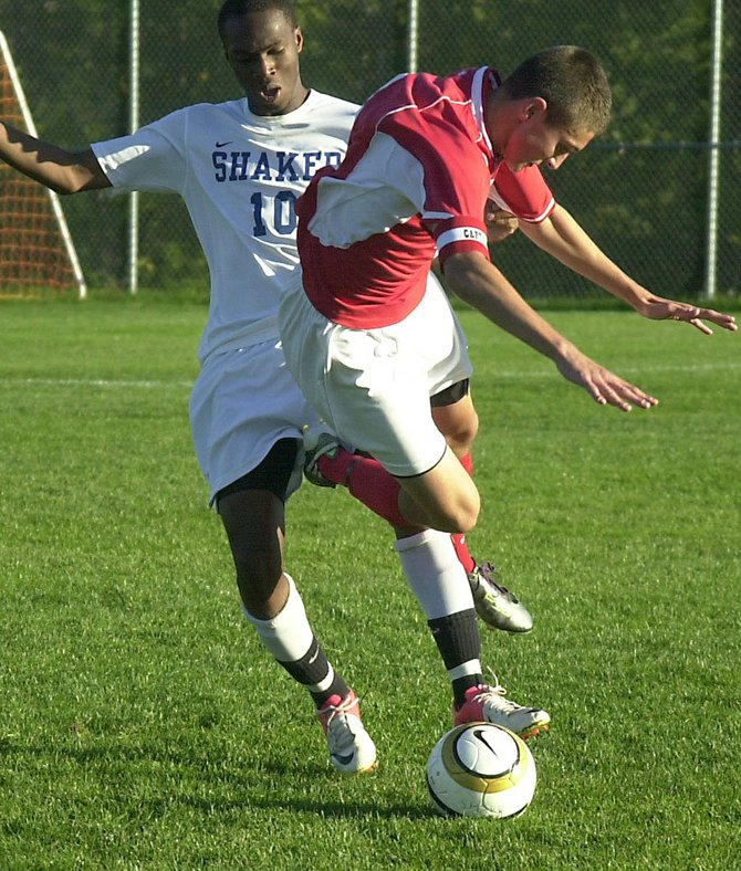 Highlights from the Sept. 27 Suburban Council boys soccer game between Niskayuna and Shaker.