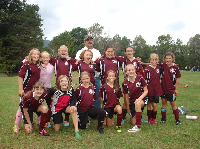Congratulations to the Proctor Elementary School fifth and sixth grade girls soccer team. The dynamic team has been on a victory roll since the start of the season