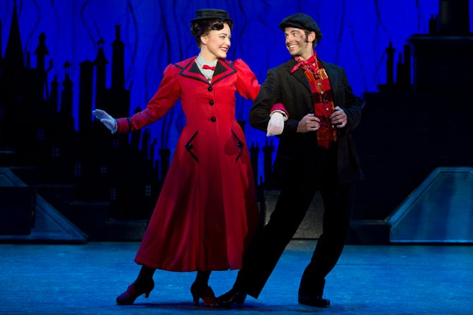 """Mary Poppins"" will be at Proctors through Sunday, Oct. 7."