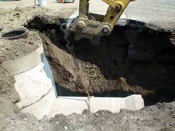 A sewer project now under way in Ticonderoga may be a template for future work in the community. Work to separate the sanitary sewer from storm water in the St. Clair Street and Wayne Avenue area is saving money, while utilizing town resources.