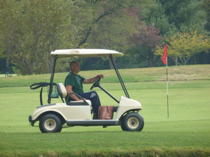 Colonial Acres Superintendent Patrick Blum feels the golf course is being leveraged as a budgetary quick fix.