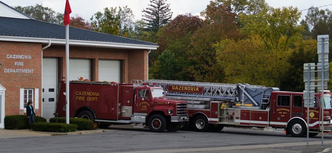 The Cazenovia Fire Department, in conjunction with the New Woodstock and Erieville fire departments, will host an open house from 6 to 8 p.m. on Saturday, Oct. 13 at the Cazenovia firehouse, located at 121 Albany St.