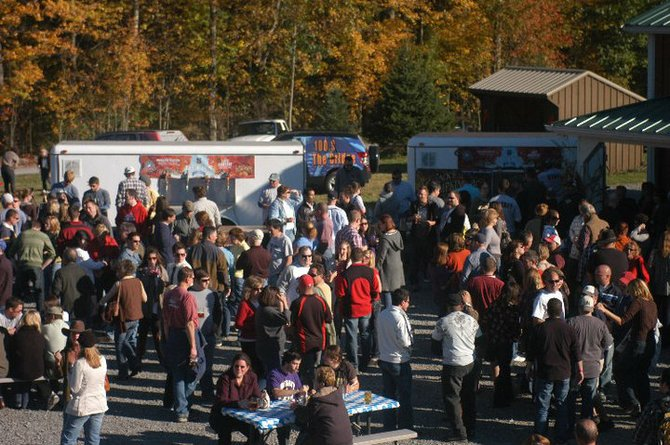 The Oktobeerfest crowd has been growing by the year. This year's event will take place at the Malta Drive-In on Saturday, Oct. 13 and will feature nearly 30 beers. Submitted photo.