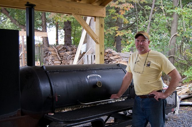 Dave Borst recently opened Rotterdam's North Country BBQ with his family. His family has an entrepreneurial history, but he's the first to tackle the food industry.