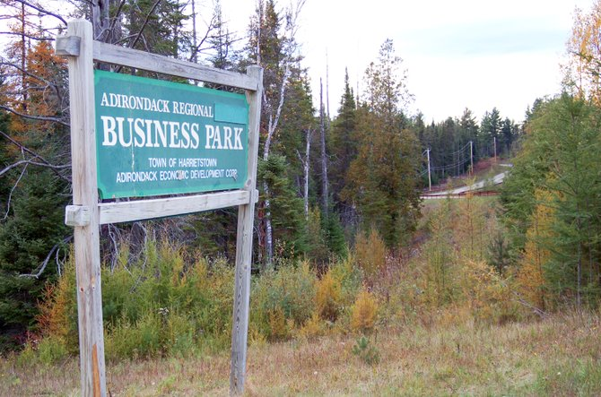 The town of Harrietstown Business Park, located in Lake Clear near the Adirondack Regional Airport, opened in 1997 and has two tenants. The future of the park has been an issue in this fall's race for town supervisor.