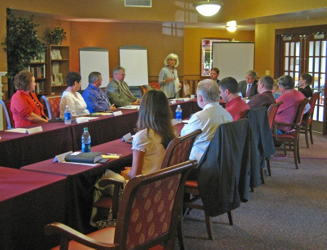 The Ticonderoga Revitalization Alliance recently met with representatives from Ticonderoga Central School, North Country Community College, International Paper, National Grid, Inter-Lakes Health, Fort Ticonderoga, Glens Falls National Bank, Bridge Point Communications, the North Country Workforce Investment Board, One-WorkSource, Essex Country Industrial Development Agency, the Ticonderoga Area Chamber of Commerce and Best Western to discuss job training issues. The group will meet again Oct. 22.