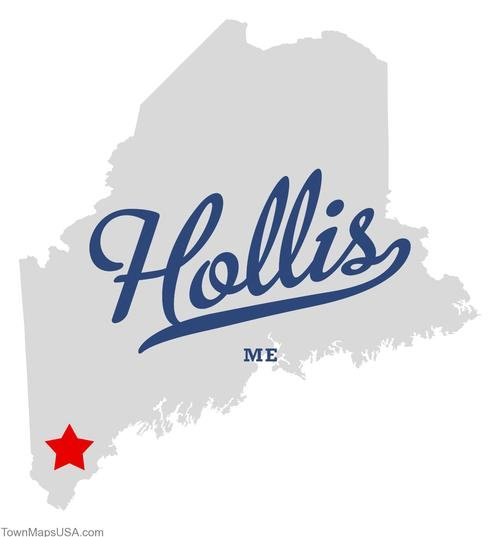 Hollis, Maine: Epicenter of of the Oct. 16 earthquake.
