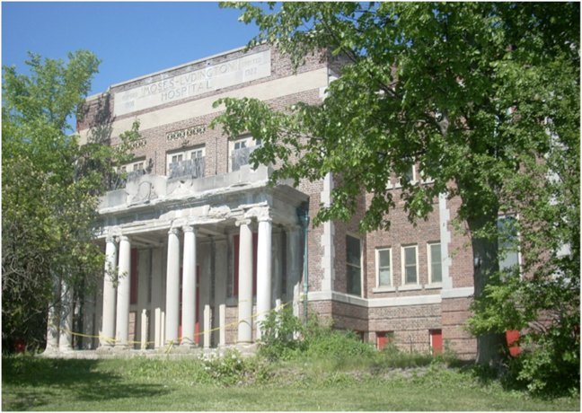 The old Moses-Ludington Hospital will be razed to make way for a new senior citizen apartment complex in Ticonderoga.