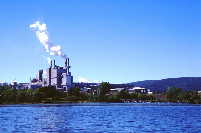 Ticonderoga International Paper mill