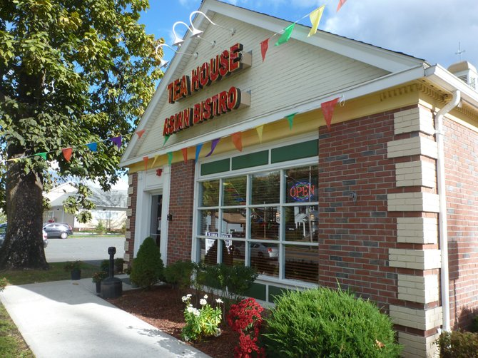 Tea House Asian Bistro opened on Monday, Oct. 8, at the former Friendlys Restaurant on Delaware  