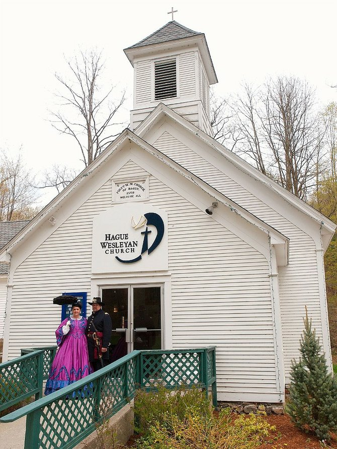The Hague Wesleyan Church was 130 yards old. But, no more. The church has changed its name to the Lakeside Regional Church and is expanding its reach into Ticonderoga.
