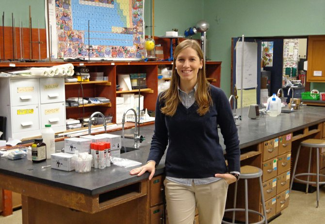 Emily Stephan, new science teacher at Indian Lake Central School