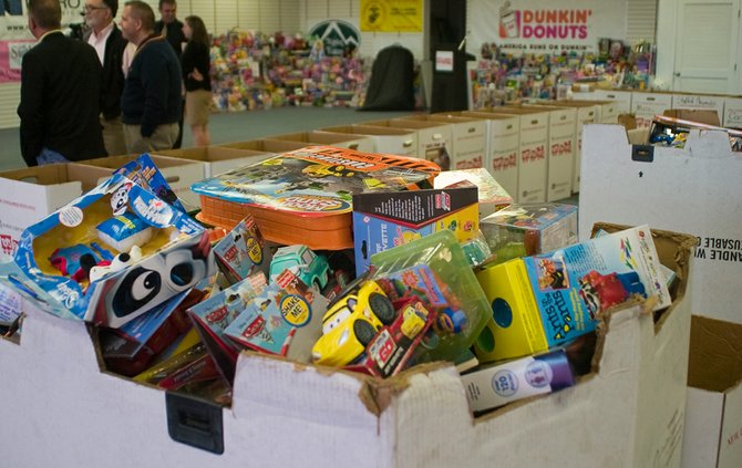 Items are already being packed up at the Capital District Toys for Tots headquarters and the amount requested has grown from last year's pace.