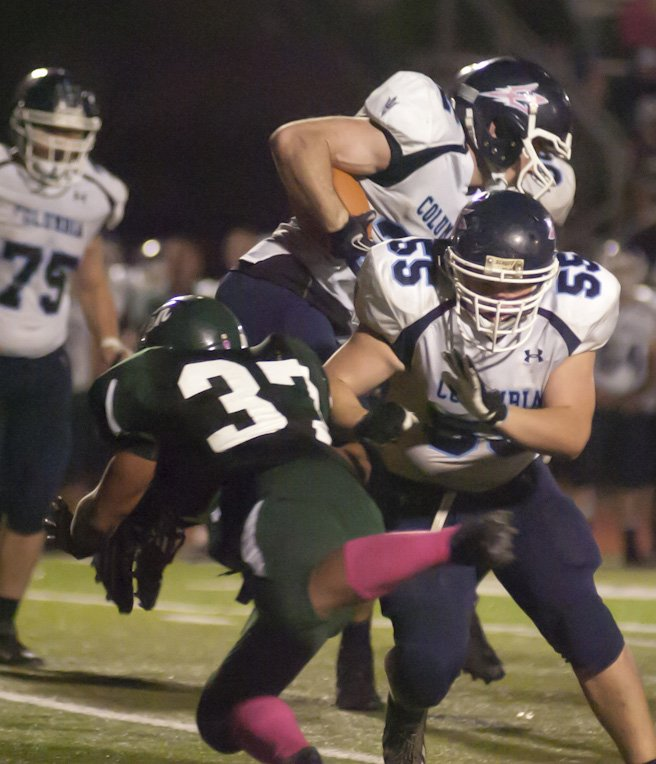 Shenendehowa hosted Columbia for a chance to reach the Section 2 Class AA Superbowl on Oct. 26. The Plainsmen won 34-12 in a game that was closer than the score.
