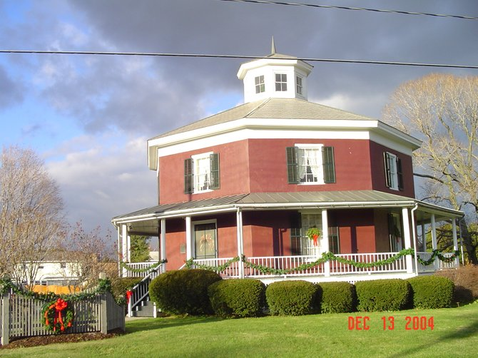 The Octagon House in Camillus will hold its annual open house Nov. 17 and 18.