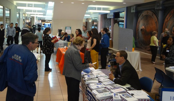 Shoppingtown Mall welcomed seniors and their caregivers to the DeWitt Community Library's Senior Fair on Friday, Oct. 26. More than 30 local organizations, agencies and businesses were on hand to answer questions about services and programs for seniors in our area.