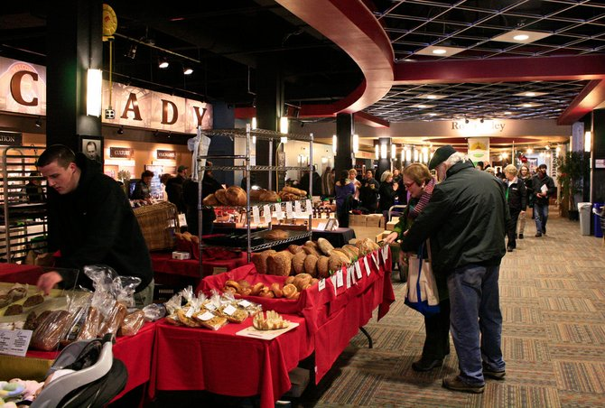 The Schenectady Greenmarket moves indoors to Proctors every winter, but this year vendors and patrons will have more space to play with as the market puts prepared food offerings in the more spacious Key Hall.