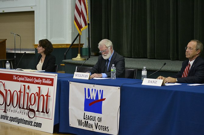 Candidates for the 109th Assembly met for a final time before the election at a Thursday, Nov. 1, forum at Bethlehem Town Hall.
