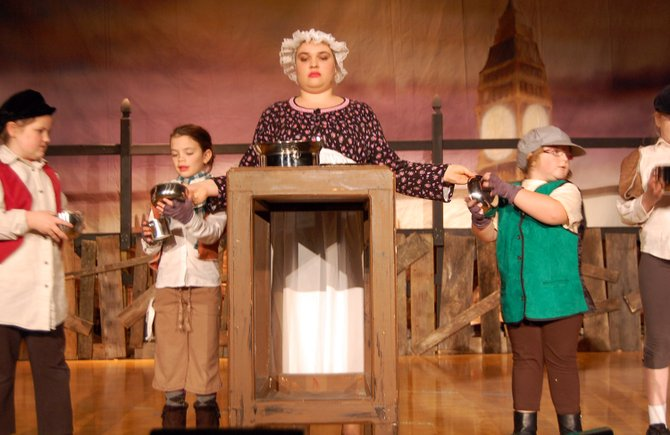 "WCS students go back in time for their musical ""Oliver. """