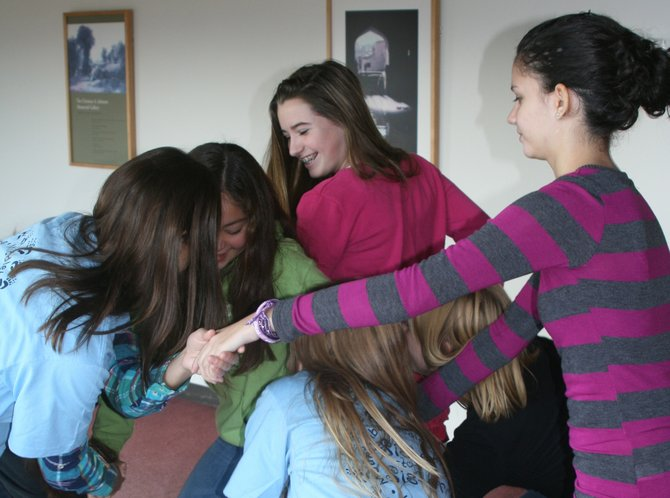 "Vermont's ""Sister-to-Sister"" program will hold its annual middle-school girls summit, Nov. 17, from 9:30 a.m. to 4 p.m, at Middlebury College's Mahaney Center for the Arts. Pictured: A recent Sister-to-Sister event at the college."