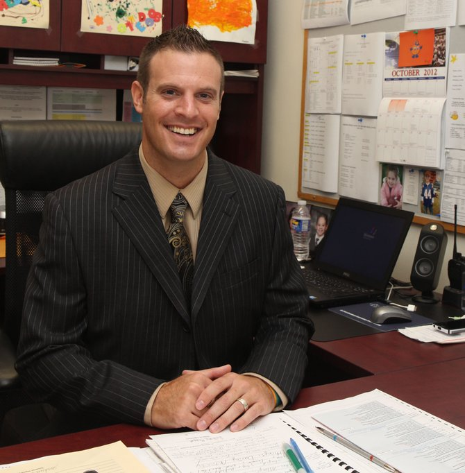 Shane Hacker is the new principal of Fremont Elementary.