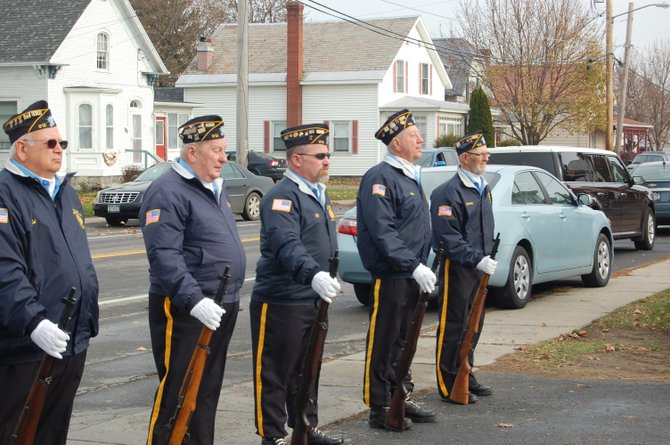 The Northern Tier community gathered for a Veterans Day Celebration at American Legion Post 912 in Rouses Point.
