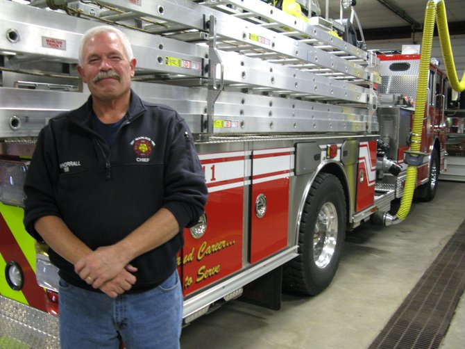 Manlius Fire Chief Paul Whorrall last week announced that he plans to run for mayor in March.
