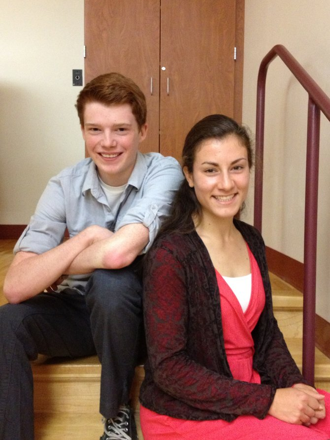 Cazenovia High School senior music students Kyle Johnson and Jessy Silfer will partake in the New York State School Music Association Conference All-State Mixed Chorus Nov. 29 through Dec. 2 in Rochester.