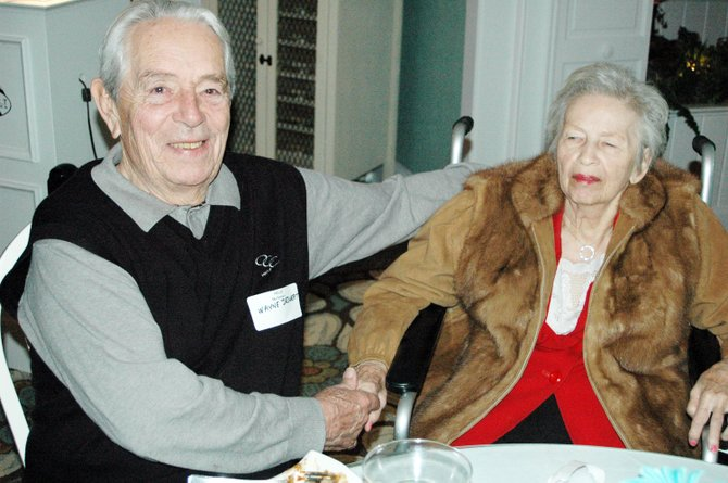 Wayne and Doris Deswert were named Citizens of the Year at the Westport Chamber of Commerce annual meeting.