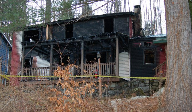 A fire destroyed a rental camp in the early morning hours of Nov. 15.